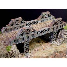 Steel Bridge with Supports